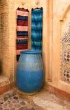 Arabische winkel Stock Foto's