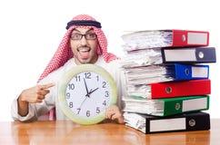 Arabische zakenman Royalty-vrije Stock Afbeeldingen