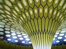 Arabischer abstrakter Gebäudeinnenraum Stockfotografie