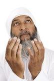 Arabischer betender Mann Stockfoto
