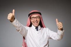 Arabischer Doktor in der Verschiedenartigkeit stockfoto