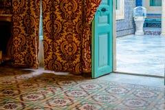 Arabischer Haus-Innenraum Stockbild