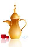 Arabischer Kaffee Stockfotografie