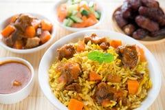 Arabischer Reis Stockfoto