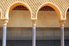 Arabischer Säulengang Stockfotografie
