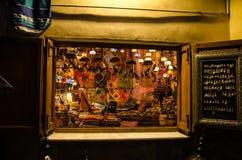 Arabischer Shop in Granada lizenzfreie stockbilder