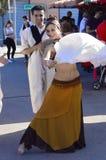 Arabischer Tänzer Stockfotografie