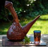 Arabischer tadelloser Tee Lizenzfreies Stockbild