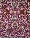 Arabischer Teppichbeschaffenheitshintergrund Stockfotografie