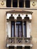 Arabisches Art-Fenster, Figueres, Spanien Stockfoto