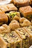 Arabisches Baklava Stockfotos