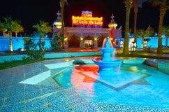 Arabisches colorith des Fantasiepalastes, Sharm el Sheikh, Ägypten Lizenzfreie Stockbilder