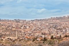 Arabisches Dorf stockfotografie
