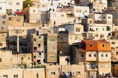 Arabisches Dorf Stockbild