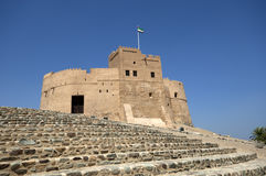 Arabisches Fort in Fujairah Stockfotografie