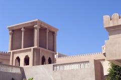 Arabisches Fort in Ras Al Khaimah Dubai stockfotografie