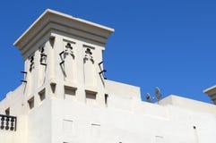 Arabisches Fort in Ras Al Khaimah Dubai Stockbild