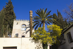 Arabisches Haus. Albaicin, Granada Stockbilder