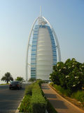 Arabisches Hotel des Burj Als in Dubai Lizenzfreie Stockfotografie