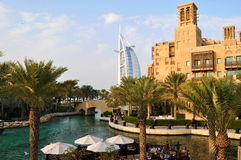 Arabisches Hotel des Burj Als in Dubai Lizenzfreie Stockfotos