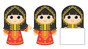 Arabisches Mädchen Stockbilder