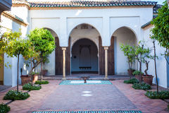 Arabisches Monument vom Andalusian Spanien Stockfotografie