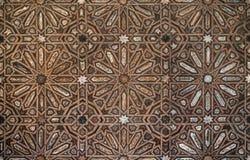 Arabisches Musterholz stockfotos