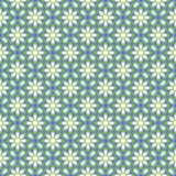 Arabisches nahtloses blaues und grünes Muster Islamischer Vektorhintergrund Ramadan Kareems Lizenzfreie Stockfotos
