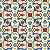 Arabisches nahtloses Muster Lizenzfreie Stockbilder