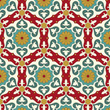 Arabisches nahtloses Muster Stockbild