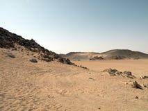 Arabisk öken Arkivbild