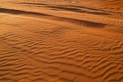 Arabisk öken, Dubai Royaltyfria Foton