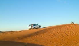 Arabisk öken, Dubai Arkivfoto