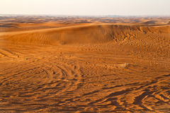 Arabisk öken, Dubai Arkivfoton