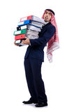 Arabisk affärsman Arkivbilder