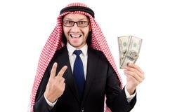 arabisk affärsman Arkivfoto