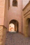 arabisk arkitektur Arkivfoto