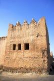 arabisk arkitektur morocco Arkivbilder