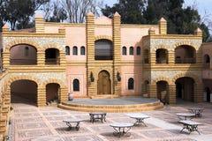arabisk arkitektur morocco Arkivfoto