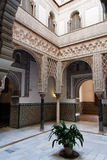 arabisk arkitektur seville Royaltyfri Foto