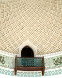 arabisk balkong Arkivfoton