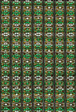 arabisk blom- prydnad Royaltyfri Bild