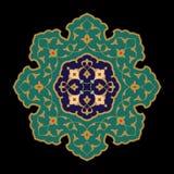 arabisk blom- prydnad vektor illustrationer