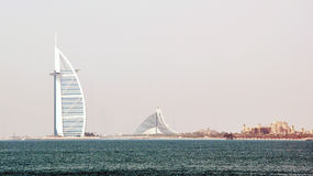 arabisk burj dubai för al Royaltyfria Bilder