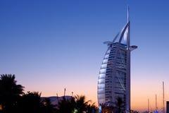 arabisk burj dubai för al Arkivbild