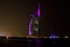 arabisk burj dubai för al Arkivbilder
