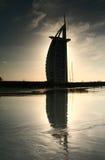 arabisk burj för al Arkivbilder