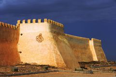 arabisk byggnad Royaltyfri Fotografi