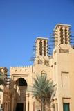 arabisk byggnadsstil Arkivbild