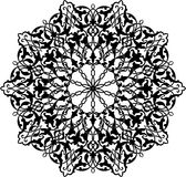 arabisk cirkelprydnad Arkivfoton